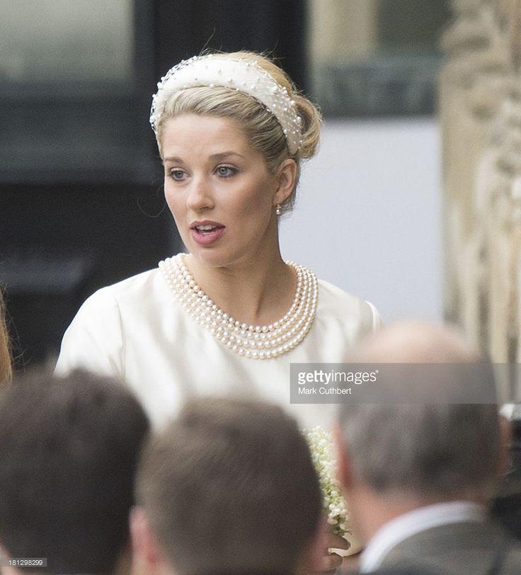 Earl Of Ulster Wedding: Wedding Of Alexander Fellowes And Alexandra Finlay