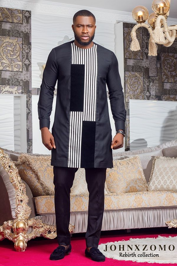 Menswear Brand Johnxzomo Has Released Its Lookbook For Its Collection Rebirth Featuring Ex African Clothing For Men Nigerian Men Fashion African Attire For Men
