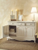 Image of Buffet credenza a tre ante country chic - provenzale 548