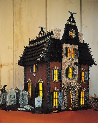 martha by mail haunted gingerbread mansion... The Addams Family manion