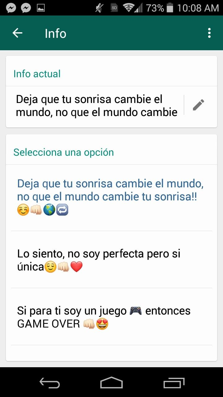 Estados De Whatsap Frases Para Whatsapp Frases Y Estados