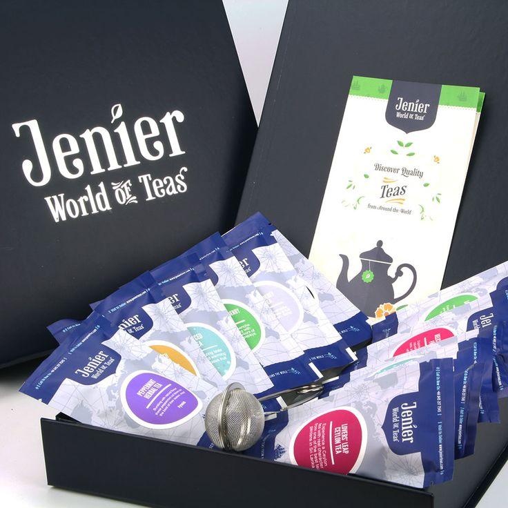 In aceasta superba cutie cadou veti gasi ambalate cu dragoste 12 mini pack-uri cu diferite tipuri de ceai, un ghid general despre ceaiuri si un infuzor cu maner lung, din otel inoxidabil, pentru o cana de ceai. Adica tot ce aveti nevoie pentru a explora si a va bucura de aceasta minunata varietate de ceaiuri din toate colturile lumii.