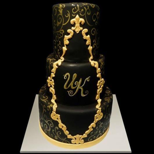 Свадебный торт в стиле чикаго