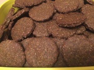 Biscotti frolla canapa, farro e riso