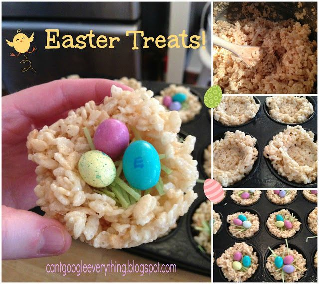 Rice Krispie Easter Treats Pictures, Photos, and Images for Facebook, Tumblr, Pinterest, and Twitter