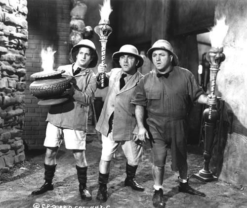 Three stooges gang bang #8