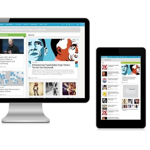 Mashable's new design is responsive, and that's something you're going to see a lot more of soon.