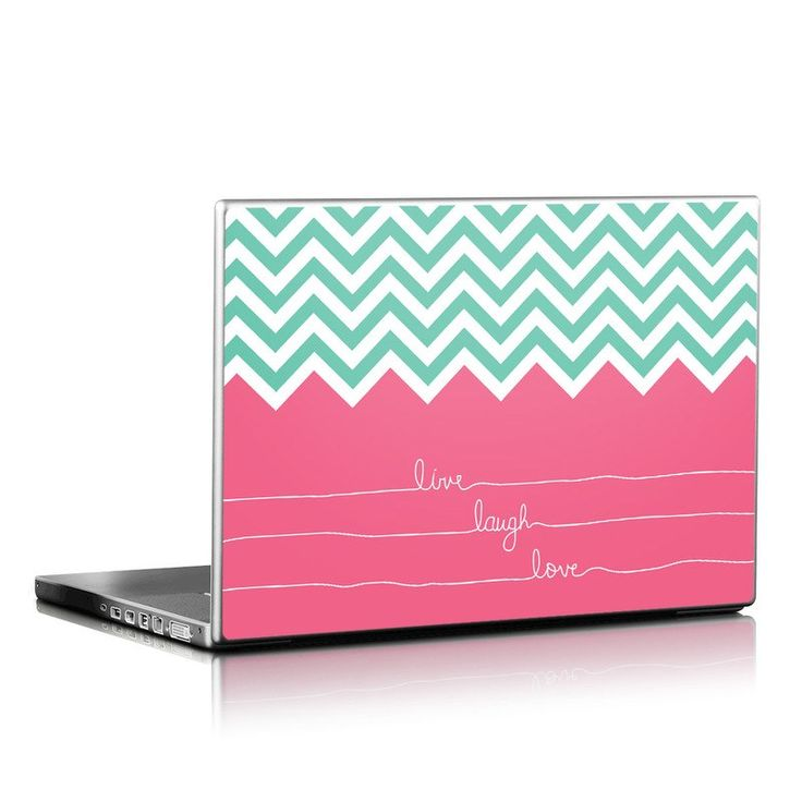 Laptop Skin - Live Laugh Love by Brooke Boothe | DecalGirl