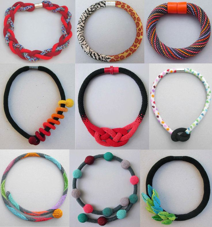Inspiration - Bead Crocheted Jewelry featured in Bead-Patterns.com Newsletter!