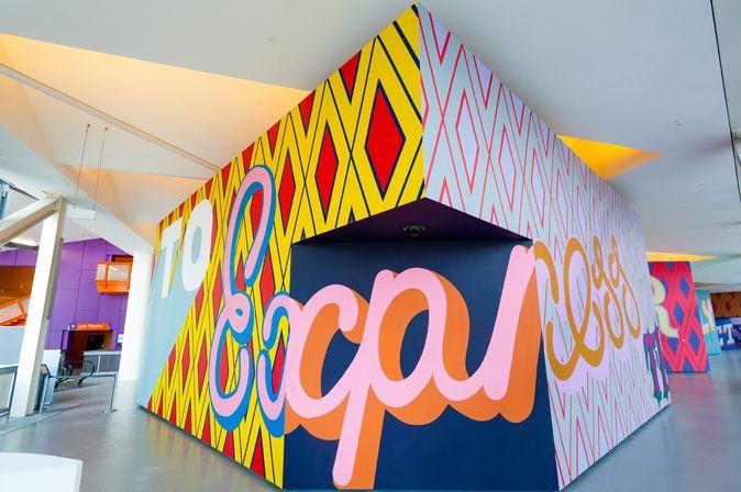 21st Floor/Have Ben Eine paint your wall.