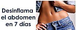 Guía básica para desinflamar el abdomen en 7 días