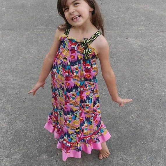 Check out this item in my Etsy shop a Smocked superhero dress cute maxi dress for sale children's maxi dress toddler maxi dress Twen maxi dress mommy and me matching maxi dress https://www.etsy.com/listing/519756836/smocked-sundress-ruffle-top-maxi-dress