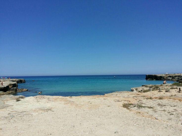#roca #salento #mare #spiaggia #sea #beach