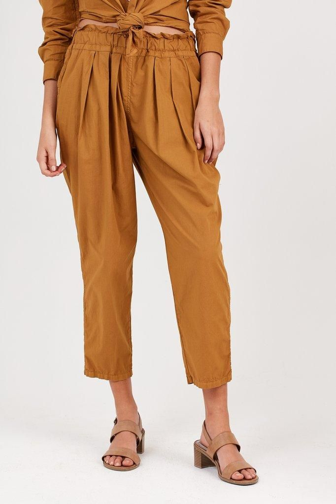 Primness - Cocoon Pleated Pant - Primness