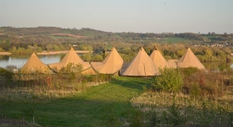 Chew Valley Lake Tipi | Lakeside wedding venue Bristol  http://www.theweddingsecret.co.uk/chew-valley-lake-tipi-wedding-venue-bath.htm