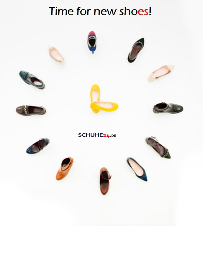 Time for new shoes!  SCHUHE24.de  #new #neu #shoes #schuhe #sneaker #pumps #slipper# #stiefel #pantoletten #hausschuhe  #fashion #shopping #adverdising #werbung #schuhe24 #kids #woman #men   https://www.schuhe24.de