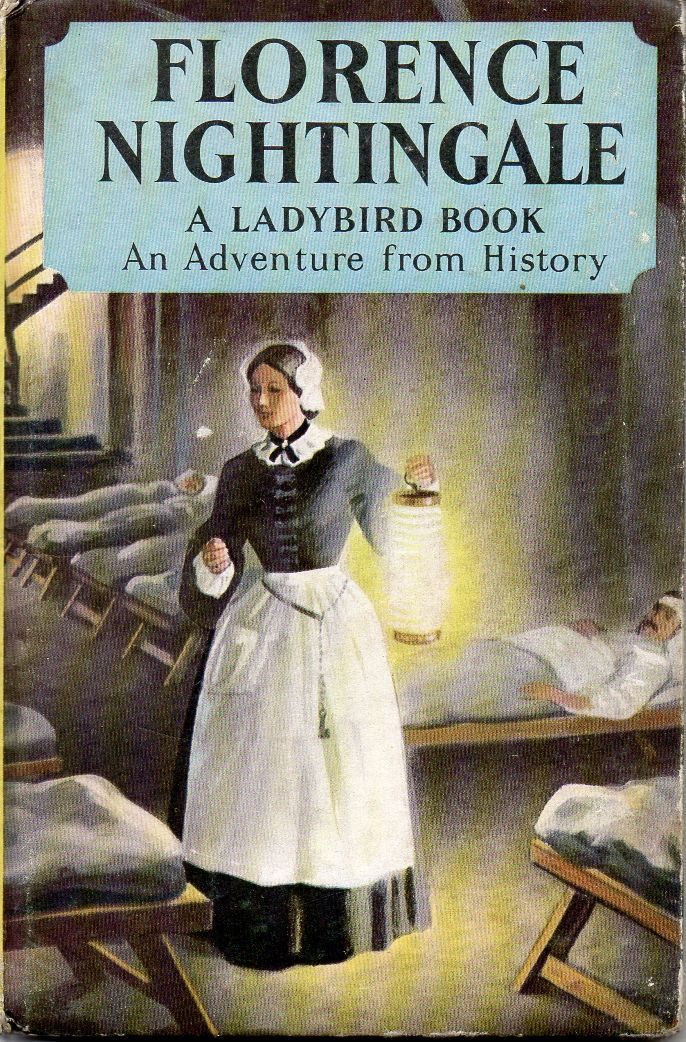 Vintage Ladybird Book FLORENCE NIGHTINGALE Adventures from History Series 561 Matt 1965