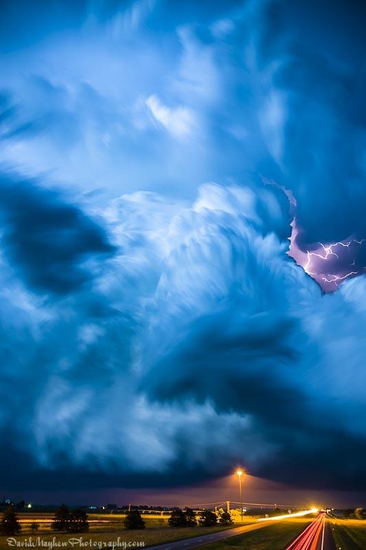 0110Severe Weather Clouds Long Exposure Photography #Nebraska Lightning jpg