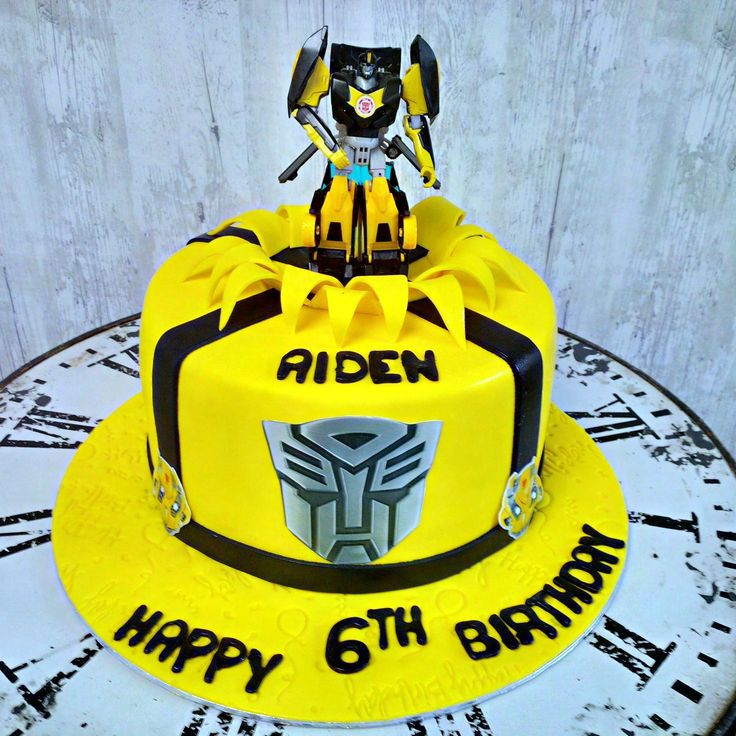 Transformers is another cake order that has been gaining popularity.
