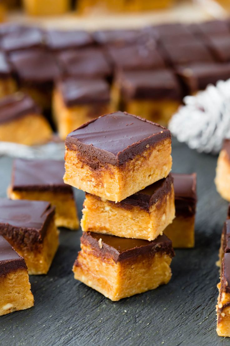 This Thermomix peanut butter chocolate fudge makes the perfect little edible xmas gifts for your friends and family. The recipe is so easy.