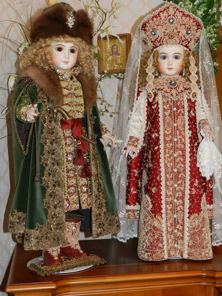 Princess Olga and Prince Vladimir - clothes for dolls by Elena Poluchankina