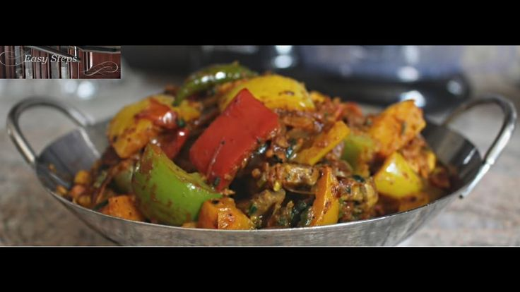 Mushroom Masala Recipe | Mushroom Capsicum Bell Pepper Sabzi | Vegetarian Recipe - https://www.cookingnovel.com/mushroom-masala-recipe-mushroom-capsicum-bell-pepper-sabzi-vegetarian-recipe/ #cooking #recipe #food