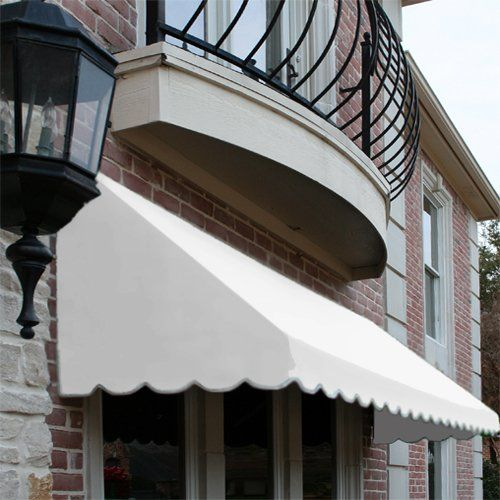 Sleek Looking Fabric Awnings Reduce Heat From The Sun And Save On Cooling Costs