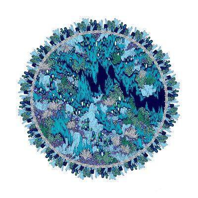 Anais Lera, Gram of Earth 3, Print