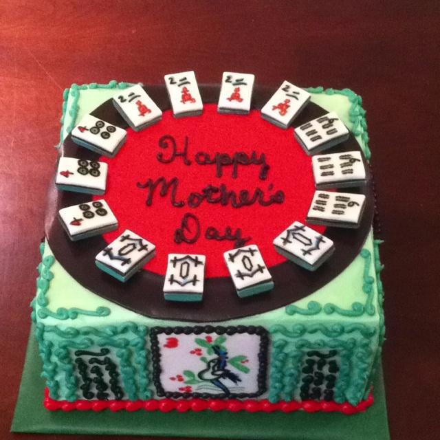 Mah Jongg cake Eat cake, Themed cakes, Perfect cake