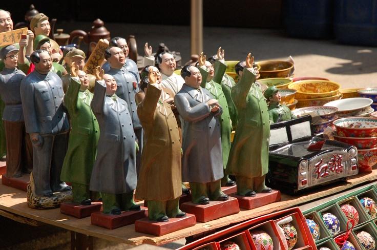 <마오쩌둥> 홍콩 캣스트리트 2008.02.27