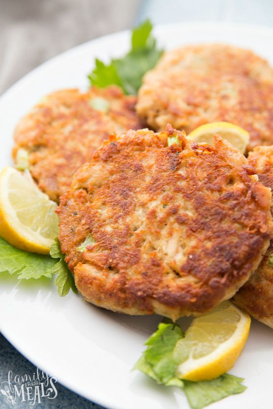 These Easy Tuna Patties are sort of like hamburgers, except instead of ground beef, they're made from a mixture of tuna, breadcrumbs, and eggs. Perfect for a light, healthy meal!