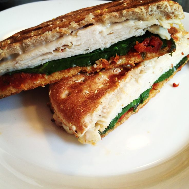 Paleo Turkey and Sun-dried Tomato Panini