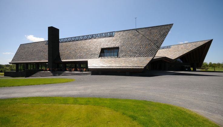 The Scandinavian Golf Club i Farum, Danmark - Ottaskifer #Minera #ModenaFliser