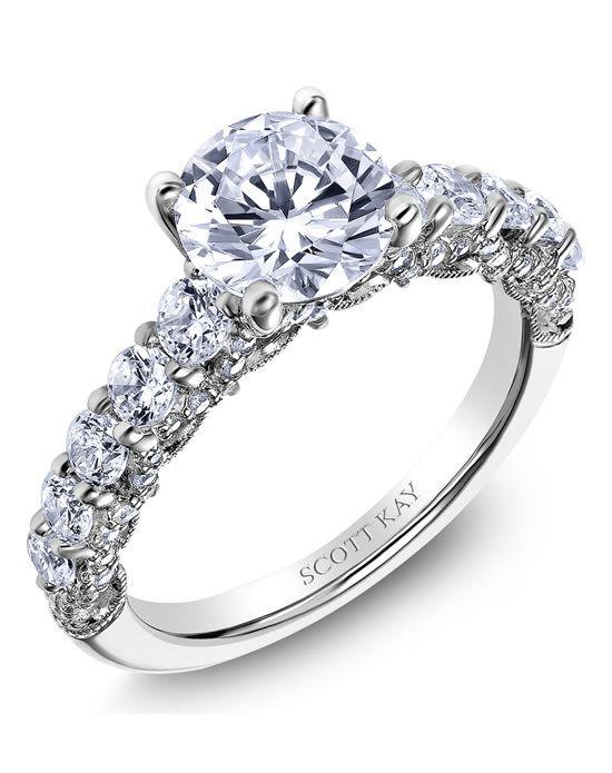 Scott Kay Engagement Ring | http://trib.al/29rNPMf