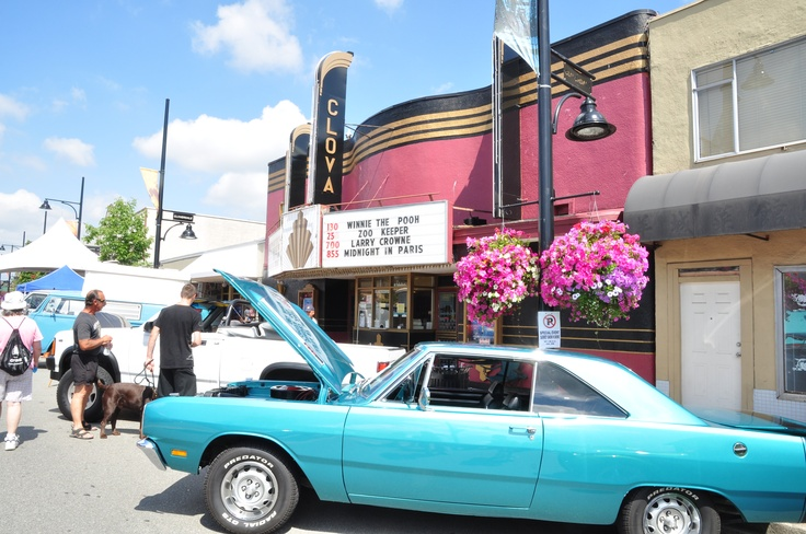 """Cloverdale Blueberry Festival and Show & Shine every August. Cloverdale,BC """"Smallville"""" TV series filmed here. The Clova was """"The Talon"""". Photo Ursula Maxwell-Lewis"""