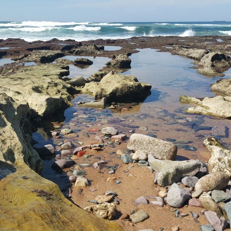 Rock pools off Cave Rock