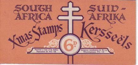 UNION SA 1953 6D CHRISTMAS BOOKLET COMPLETE