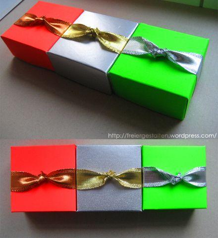 http://freiergestalten.wordpress.com/  three little presents
