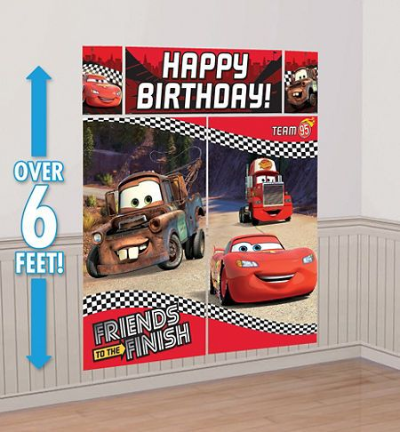 Disney Cars Party Supplies - Cars 3 Birthday Ideas - Party City