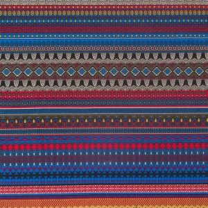Multi Color Traditional European Stretch Cotton Woven