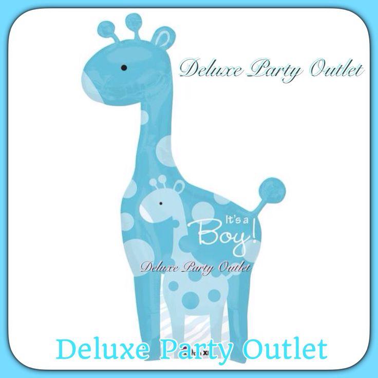Blue Jirafe Baby Shower