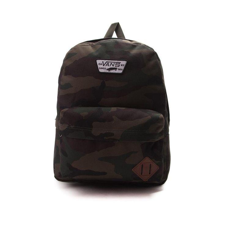 Vans Old Skool II Camo Backpack - Olive - 5664