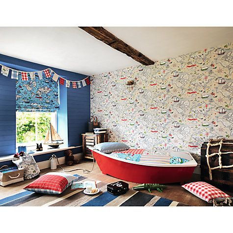 24 best childrens room inspiration images on pinterest kids need some unique childrens room inspiration this nautical themed childs room from john lewis has kids wallpapermap gumiabroncs Images