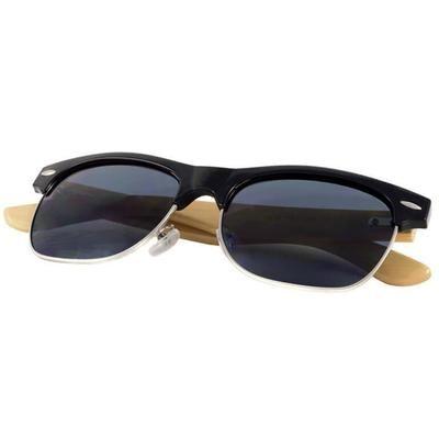 Ξύλινα Γυαλιά Ηλίου Bamboo Clubmaster Premier-e-chap