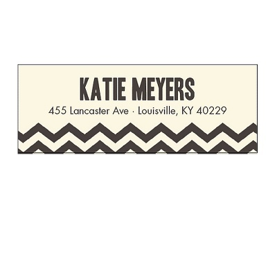 39 best Design Address Label images on Pinterest Address - sample address label