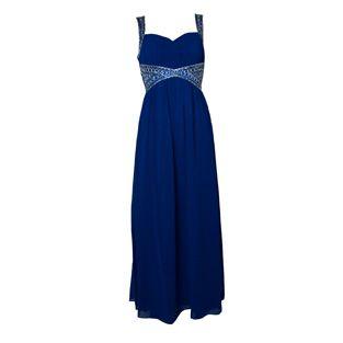 Max & Lola Royal Blue Sweetheart Dress