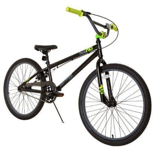 Boys Bike BMX Bicycles 24 inch Steel Frame Rear U Brakes Alloy Rims Matte Black #TonyHawk