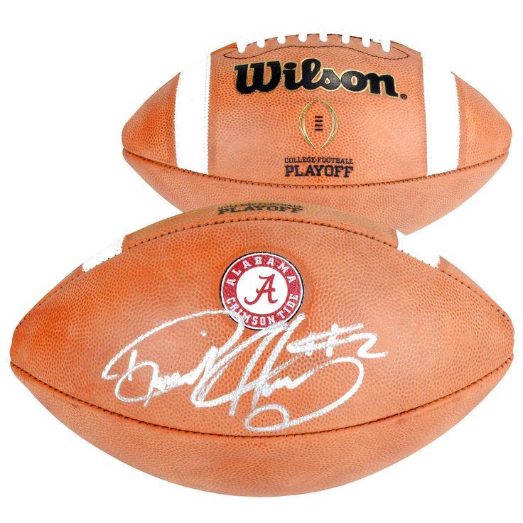 Derrick Henry Alabama Crimson Tide Fanatics Authentic Autographed Wilson College Football Playoff Football - $279.99