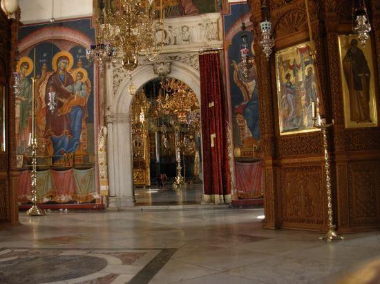 Από το καθολικό της Ιεράς Μονής Ξενοφώντος - From the katholikon of the Holy Monastery of Xenophontos