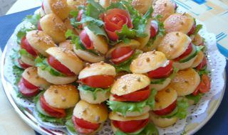 Chlebíčky,jednohubky-inšpirácie - Báječné recepty